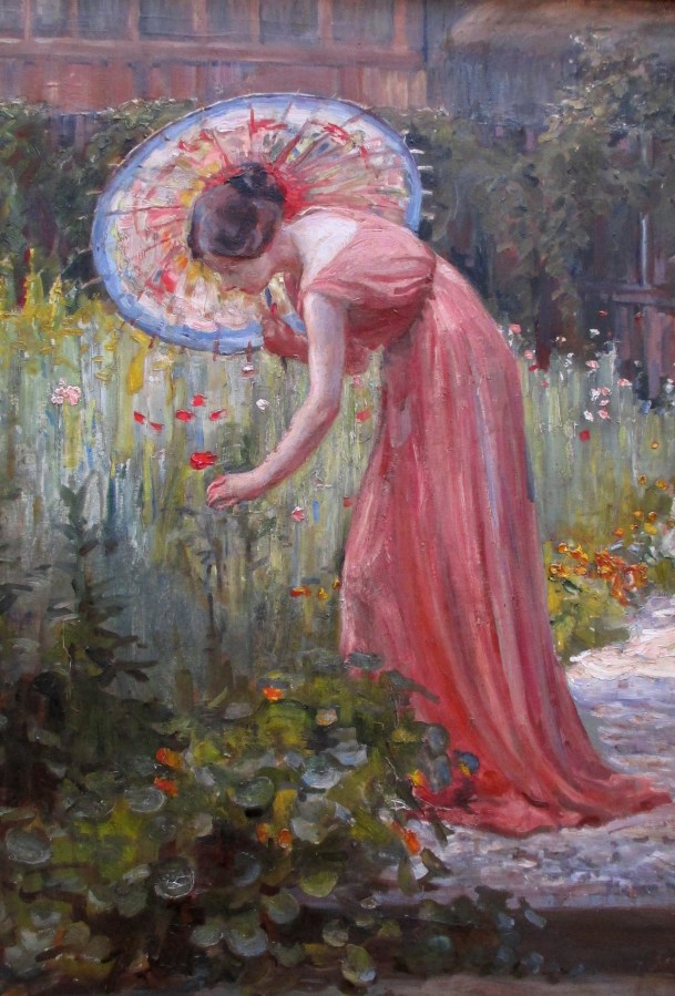 Dora Meeson | 'In a Chelsea Garden'