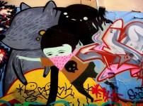 Ghostpatrol, street artist, Union Lane, is it art?