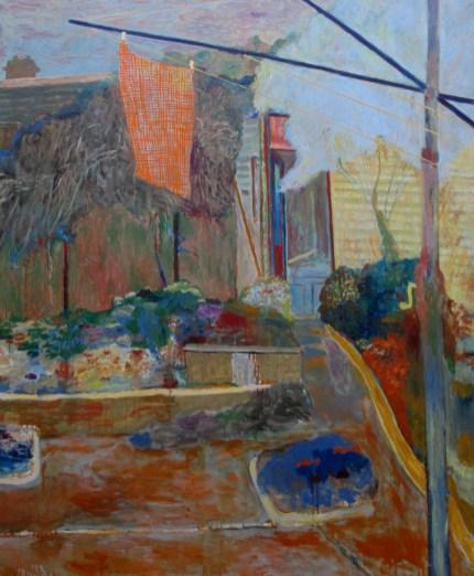 John Dent - thru' the back garden, is it art?