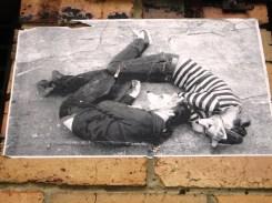 Miso & Ghostpatrol wheatpaste, street art, street artists, is it art?