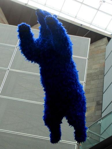 Paola Pivi - drop bear, is it art?