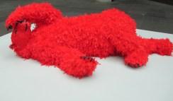 Paola Pivi- red bear, is it art?