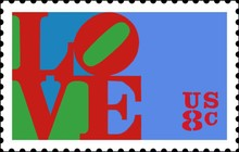 Robert Indiana   Love   stamp