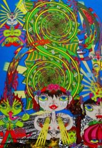 Keiichi Tanaami - eternal engine, Japanese artists,, is it art?
