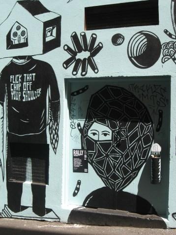 Eko Nugroho - Flick That Chip Off Your Shoulder, street art, Indonesian artists, art, street artists, is it art?