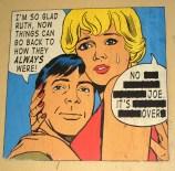 Ruth & Joe - Street Art take on Lichtenstein, is it art?