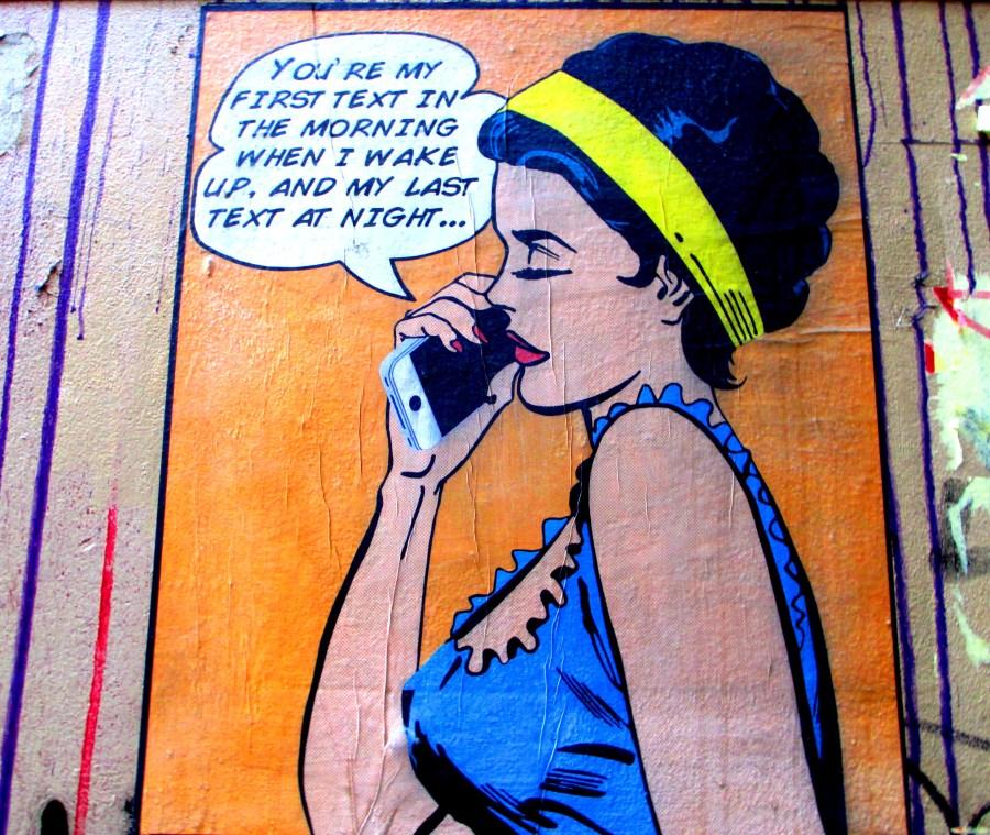 Roy Lichtenstein, pop art, is it art? street art,
