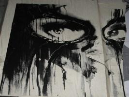 Rone Finlay Lane Melbourne, Rone, Melbourne, street art, street artists, stencil art, stencils, is it art?
