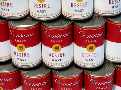 Tess Saunders | Consume Soup Art, Consume Crave, Desire, Want, Pop art, is it art?