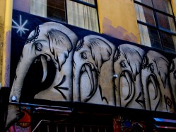 Twoone Rutledge Lane, Twoone, street art, street artists, Australian street artists, Melbourne, is it art?