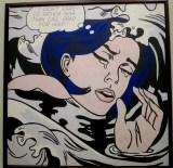 Roy Lichtenstein | Drowning Girl