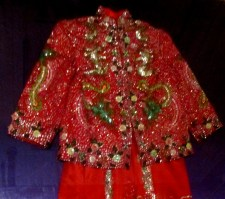 Chinese Wedding Jacket and Skirt