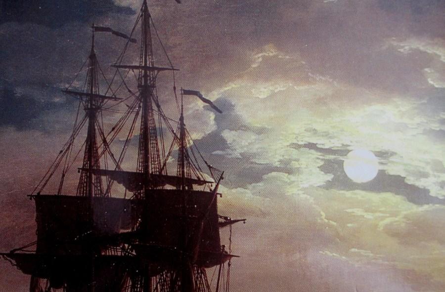 Joseph Vernet | La Nuit un port de Mer au Clair de Lune (Louvre)