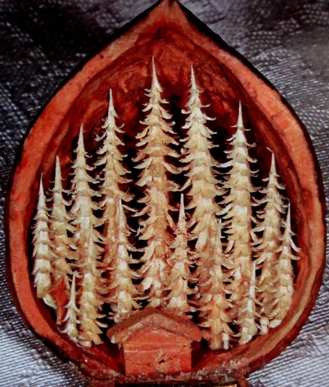 Lothar Lautenbach | walnut carving