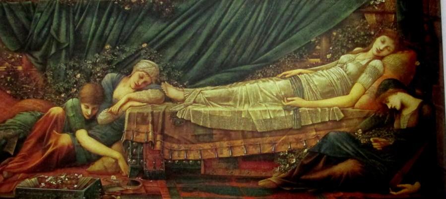 Edward Burne-Jones | The Sleeping Princes