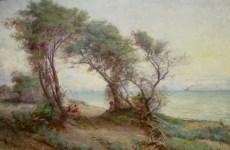Frederick McCubbin   Brighton Beach (1896)