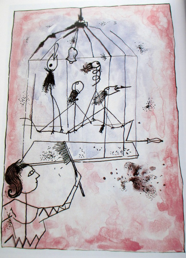 Sally Swain | Mrs Klee Cleans Out the Bird Cage