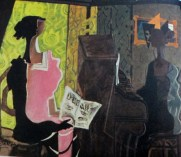 Georges Braque | The Duet (1937)