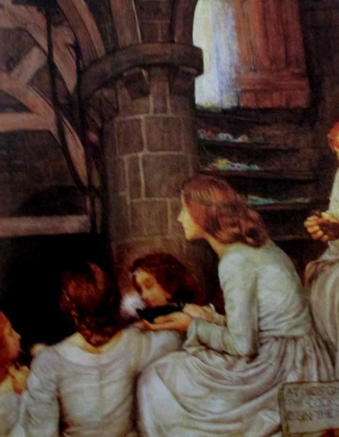Eleanor Fortescue-Brickdale | The Wise Virgins (1901)
