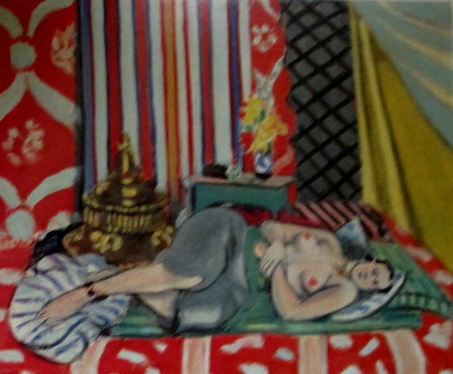 Henri Matisse | Odalisque in Grey Trousers (1927)