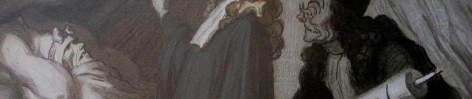 Honore Daumier | The Hypochondriac (c 1860)