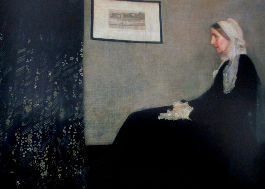 James McNeil Whistler | Arrangement in grey and black | Portrait of the artist's mother (1871)