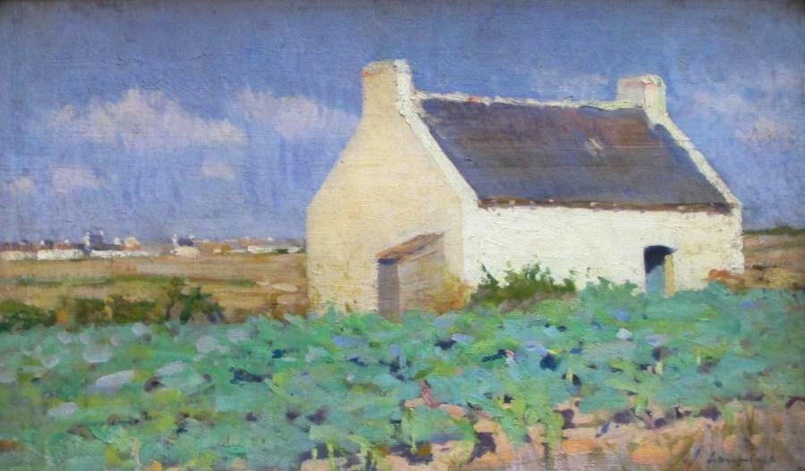 John Longstaff | Cabbage Plot Belle Ile (c1889)