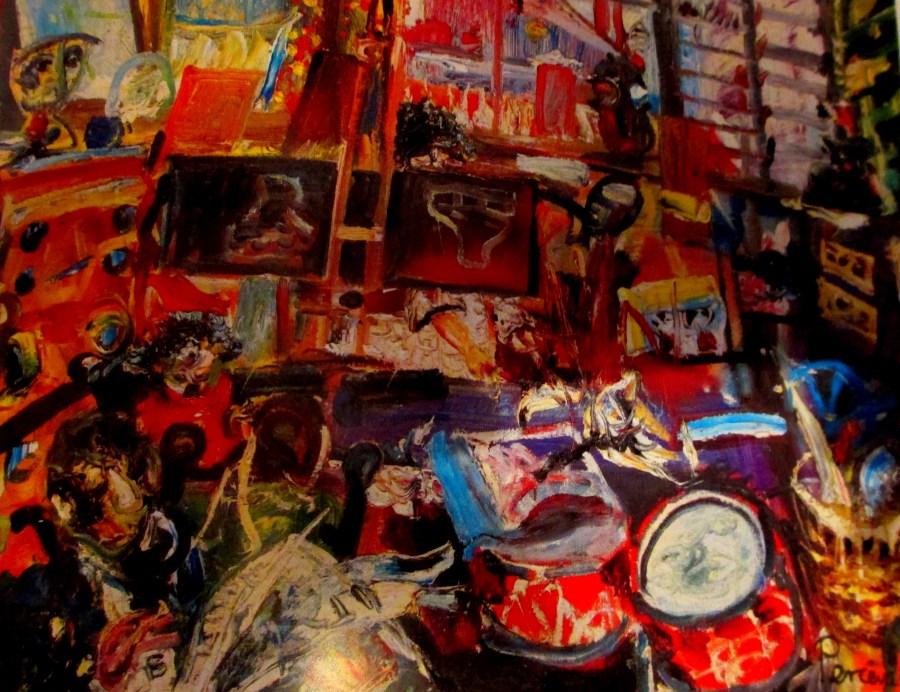 John Perceval   Mirka's Studio 1961