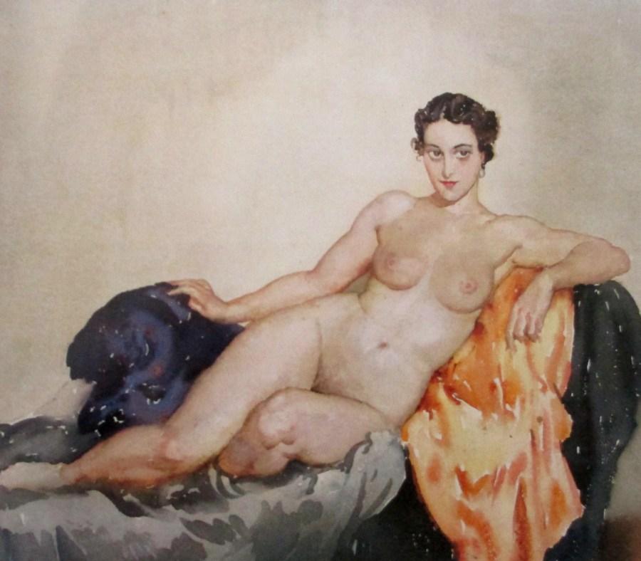 Norman Lindsay | Reclining Nude