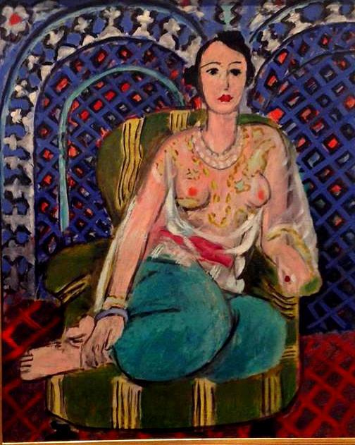 Henri Matisse | Seated Odalisque
