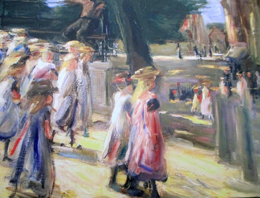 Max Liebermann | On the Way to School in Edam
