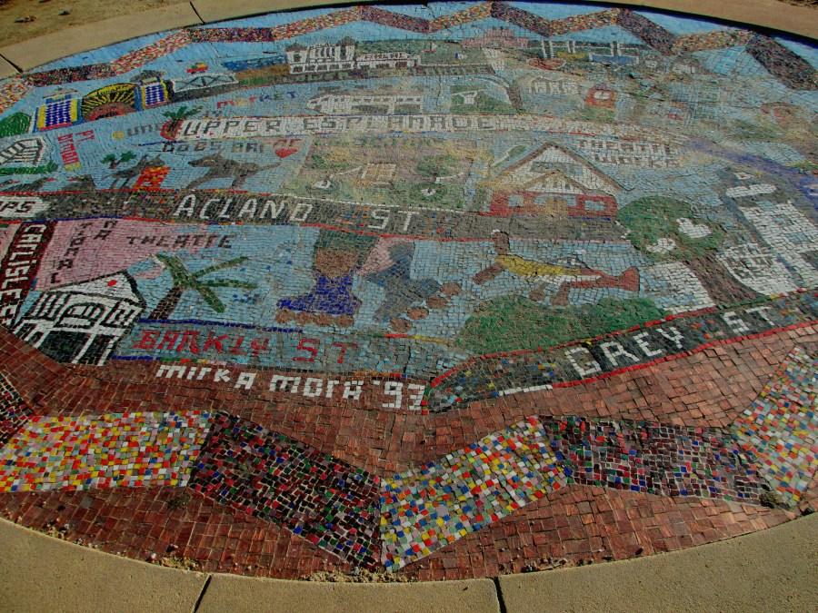 Mirka Mora St Kilda mosaic