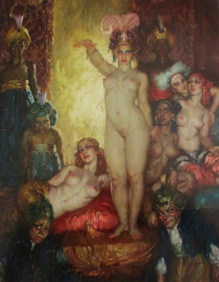 Norman Alfred Williams Lindsay | Incarnation