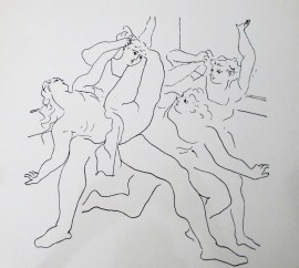 Pablo Picasso | Dancers [Etching]