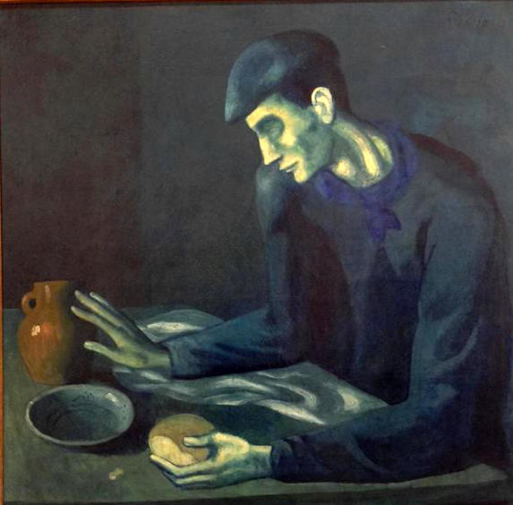 Pablo Picasso   Blind Man's Meal (1903)