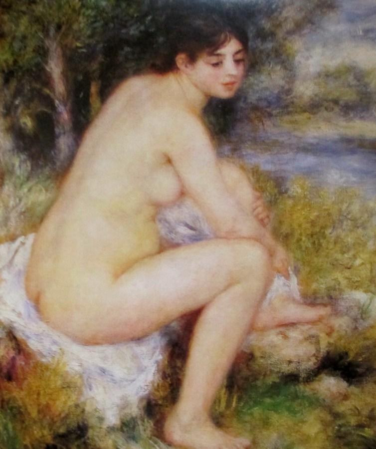 Pierre-Auguste Renoir | Nude Amid Landscape (1883)