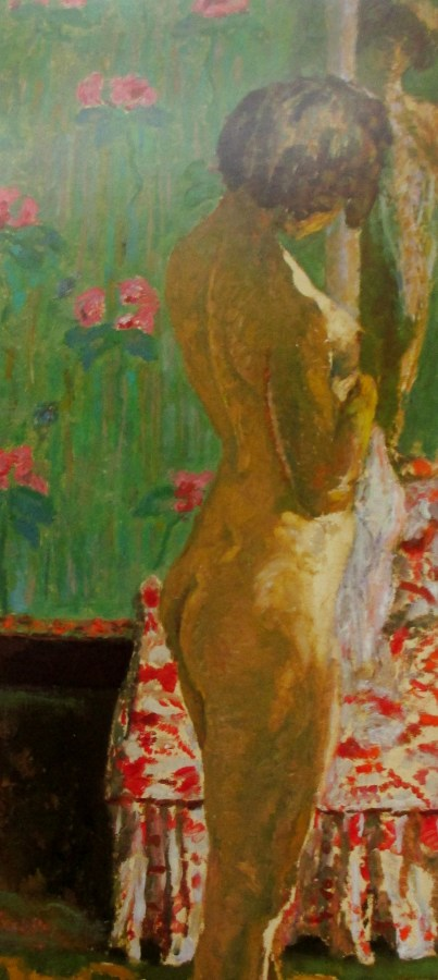 Pierre Bonnard | Woman in Front of a Mirror (1908)