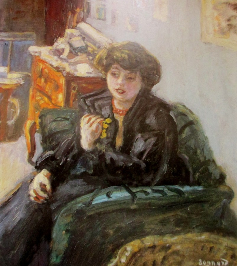 Pierre Bonnard | Young Lady in an Interior (1906)