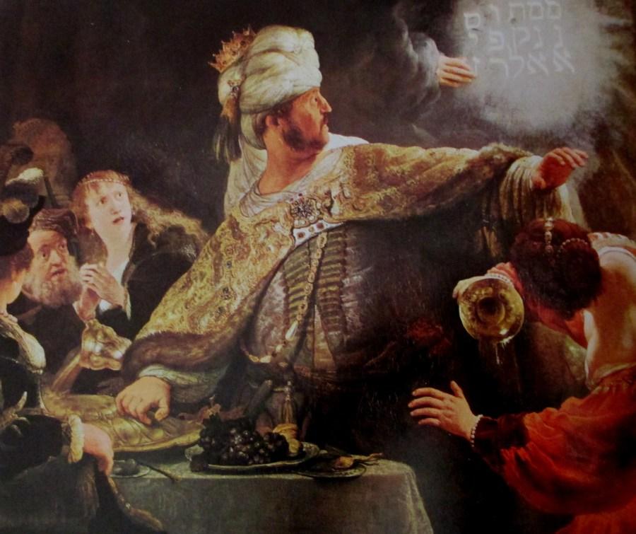 Rembrandt van Rijn | Belshazzar's Feast