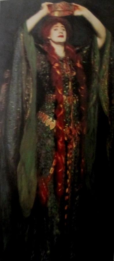 John Singer Sargent | Ellen Terry as Lady Macbeth