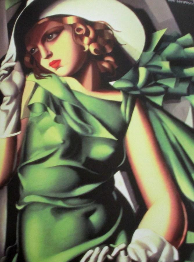 Tamara de Lempicka | Young Girl in Green
