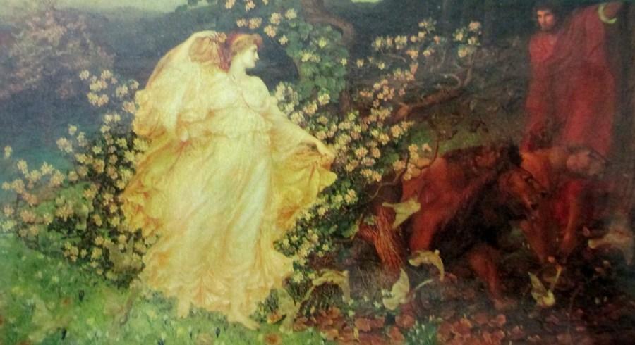 W B Richmond   Goddess Venus and Anchises