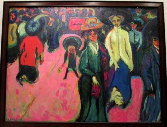 Ernst Ludwig Kirchner | Street, Dresden (1907)