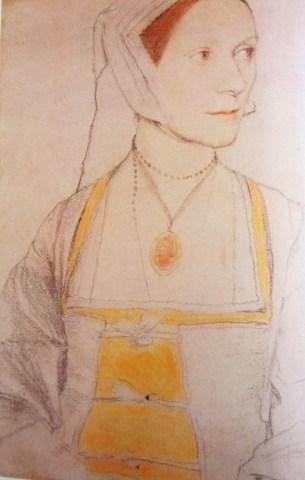 Hans Holbein   Cecily Heron