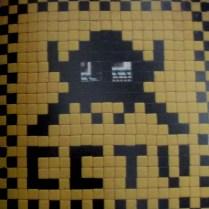 Invader | London | CCTV
