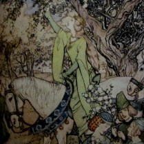 Arthur Rackham   How Queen Guenevere Rode a'Mayring from the Romance of King Arthur and His Knights of the Round Table Macmillan London 1917