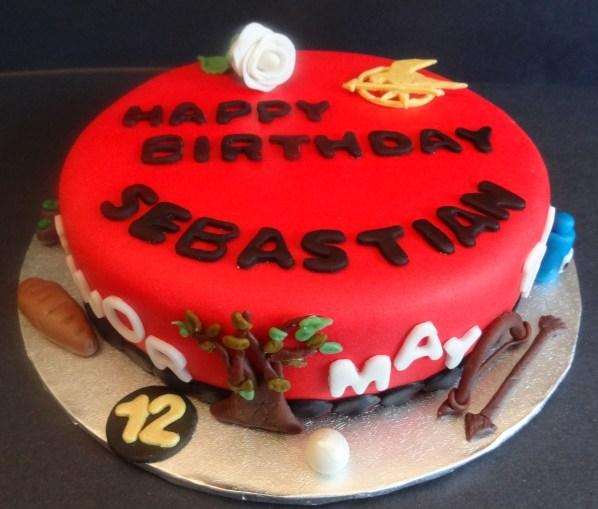 Terrific Maryannes Cakes Hunger Games Cake Funny Birthday Cards Online Elaedamsfinfo