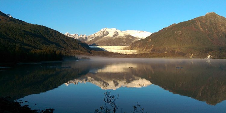 Mendonhall glacier photo