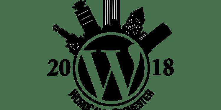wordcamp Roc 2018 Logo