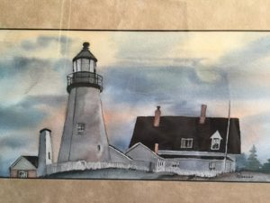 lighthouse by rosanne